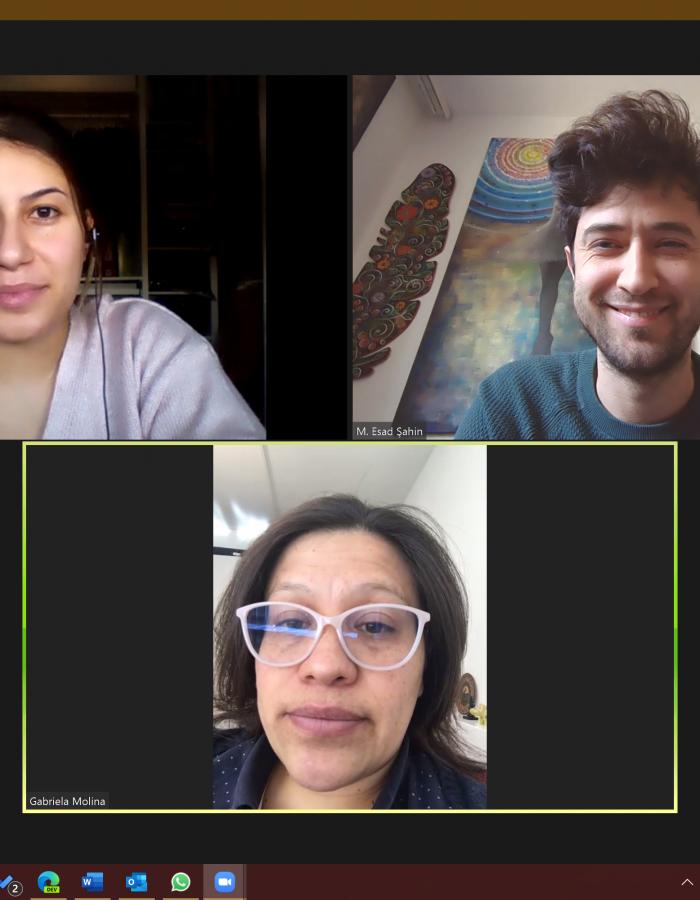 Treffen mit Gabriela Molina Berami 12.02.21